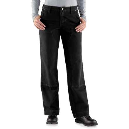 Carhartt Kane Relaxed-Fit Dungaree Jeans (For Women) in Black - Closeouts