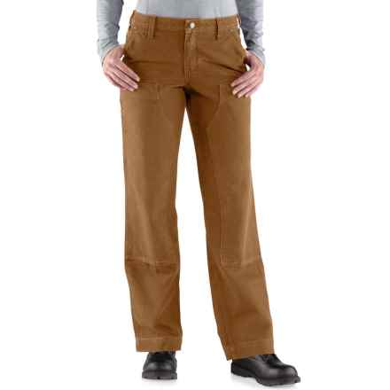 Carhartt Kane Relaxed-Fit Dungaree Jeans (For Women) in Carhartt Brown - Closeouts