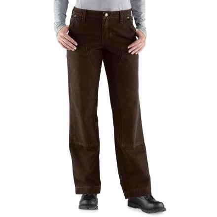 Carhartt Kane Relaxed-Fit Dungaree Jeans (For Women) in Dark Brown - Closeouts