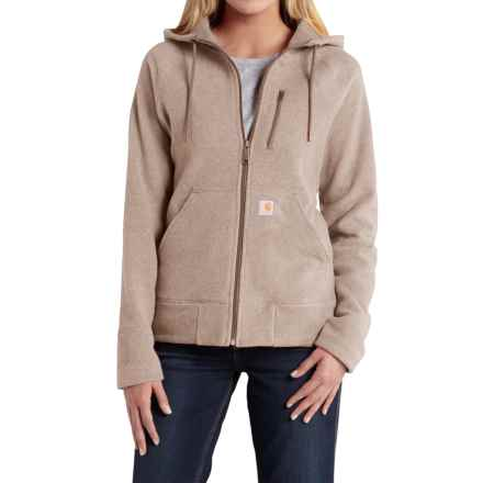 Carhartt Kentwood Jacket - Factory Seconds (For Women) in Light Shale Brown - 2nds