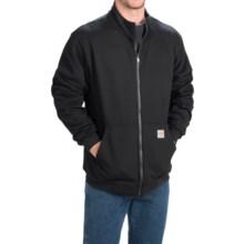 Carhartt Klondike Flame-Resistant Heavyweight Sweatshirt - Full Zip (For Men) in Black - 2nds