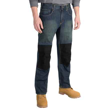 Carhartt Knee Pad Jeans - Factory Seconds (For Men) in Rustic Worn - 2nds