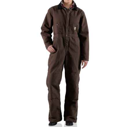 Carhartt Kodiak Sandstone Coveralls (For Women) in Dark Brown - 2nds