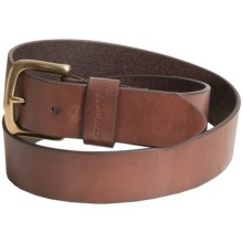 Carhartt Leather Belt (For Men) in Brown - Closeouts