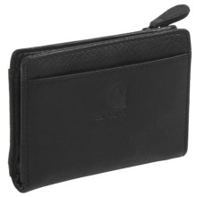 Carhartt Leather Mini Wallet (For Women) in Black - Closeouts
