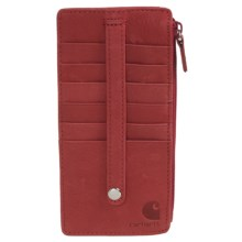 Carhartt Leather Purse Insert (For Women) in Red - Closeouts