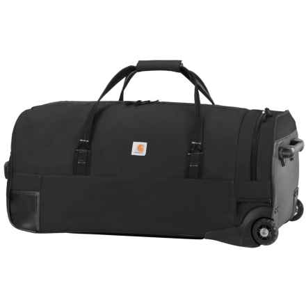 "Carhartt Legacy Rolling Duffel Bag - 30"" in Black - Closeouts"