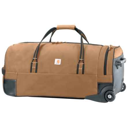 "Carhartt Legacy Rolling Duffel Bag - 30"" in Carhartt Brown - Closeouts"