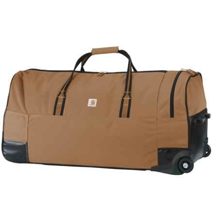 "Carhartt Legacy Rolling Gear Bag - 36"" in Carhartt Brown - Closeouts"