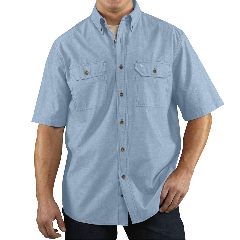 Carhartt Lightweight Chambray Shirt For Men