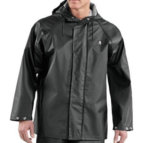 Carhartt Lightweight PVC Rain Coat - Waterproof (For Men) in Yellow