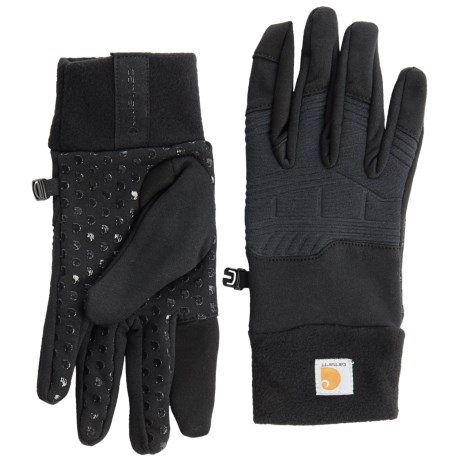 Carhartt Lightweight Shooting Gloves (For Men and Women) in Black