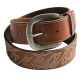 Carhartt Logo Patch Belt - Leather (For Women)