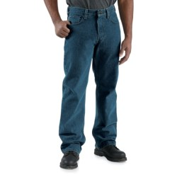 Carhartt Loose-Fit Denim Jeans - Straight Leg (For Men) in Dark Vintage Blue