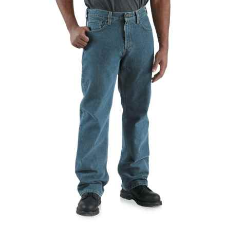 Carhartt Loose-Fit Denim Jeans - Straight Leg (For Men) in Deepstone - 2nds