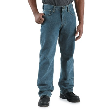 Carhartt Loose-Fit Denim Jeans - Straight Leg (For Men) in Deepstone