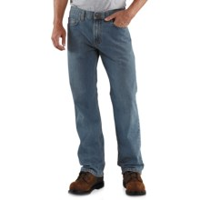 Carhartt Loose Fit Jeans - Straight Leg (For Men) in Light Worn In Blue - 2nds