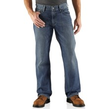 Carhartt Loose Fit Straight-Leg Jeans (For Men) in Tumbled Blue - 2nds