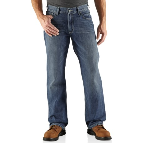 Carhartt Loose Fit Straight-Leg Jeans (For Men) in Tumbled Blue