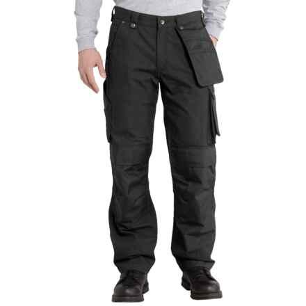 Carhartt Lumberport Ripstop Pants (For Men) in Black - 2nds