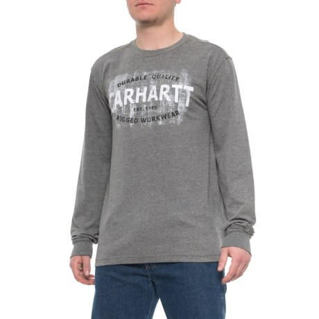 b26bb175f Carhartt Maddock Rugged Workwear Graphic T-Shirt - Long Sleeve (For Men) in