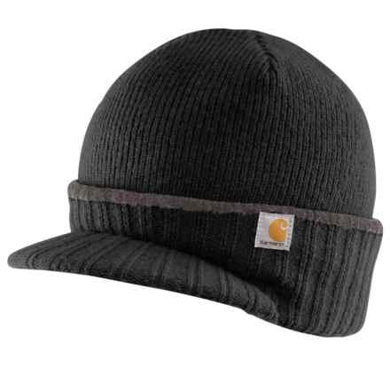 Carhartt Marshfield Wool-Blend Knit Hat - Factory Seconds (For Men) in Black - 2nds