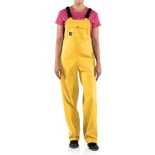 Carhartt Medford Bib Overalls - Waterproof (For Women) in Sunglow - Closeouts