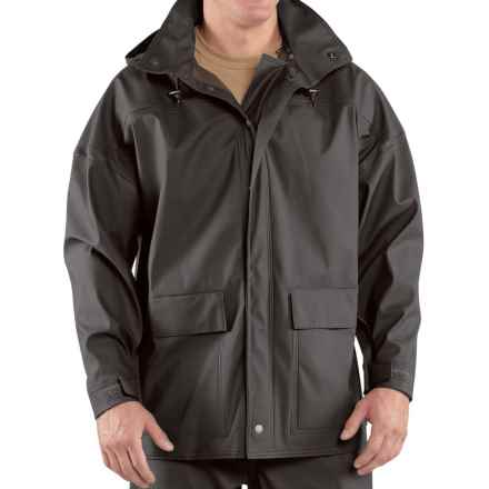 Carhartt Medford Coat - Factory Seconds (For Big and Tall Men) in Black - 2nds