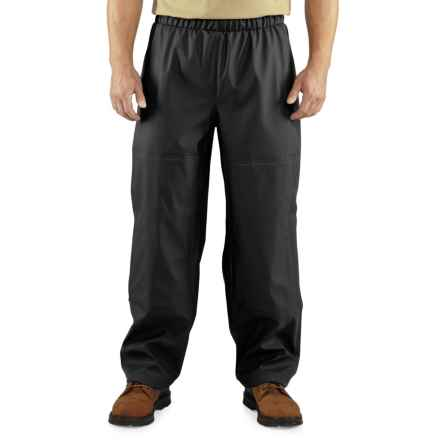 Carhartt Medford Pants - Waterproof (For Big and Tall Men) in Black - 2nds