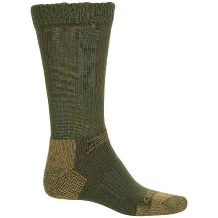 Carhartt Merino Wool Comfort-Stretch Steel Toe Socks - Mid Calf (For Men) in Moss - Closeouts