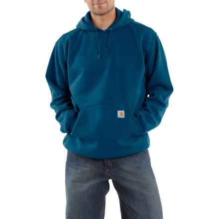 Carhartt Midweight Fleece Hoodie - Factory Seconds (For Men) in Superior Blue - 2nds