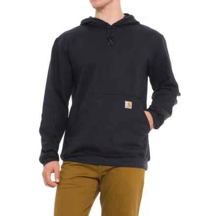 Carhartt Midweight Hooded Sweatshirt (For Men) in Dark Navy - Closeouts