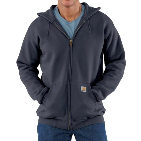 Carhartt Midweight Hooded Sweatshirt - Zip Front (For Tall Men)