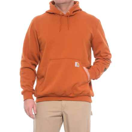 Carhartt Midweight Hoodie - Factory Seconds (For Big and Tall Men) in Burnt Sienna - 2nds