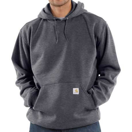 Carhartt Midweight Hoodie (For Men) in Charcoal Heather