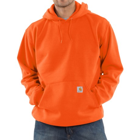 Carhartt Midweight Hoodie (For Men) in Orange