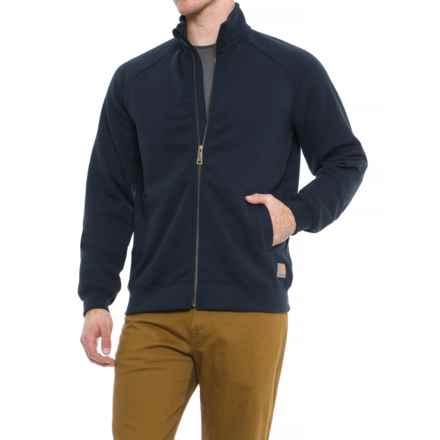 Carhartt Midweight Mock Neck Sweatshirt - Full Zip, Factory Seconds (For Men) in New Navy - 2nds