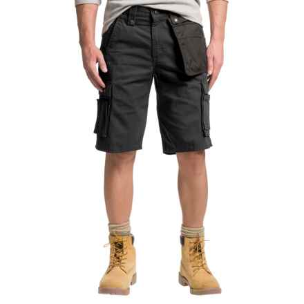 Carhartt Multi-Pocket Ripstop Cargo Shorts - Factory Seconds (For Men) in Black - 2nds