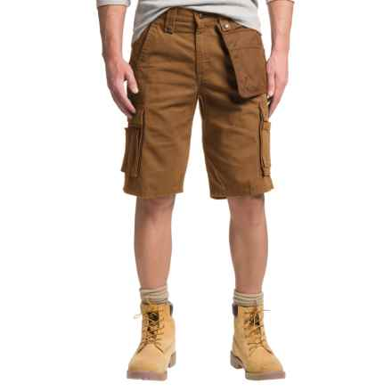 Carhartt Multi-Pocket Ripstop Cargo Shorts - Factory Seconds (For Men) in Carhartt Brown - 2nds