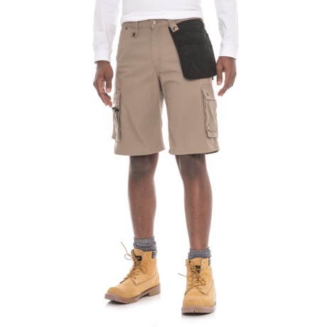 Carhartt Multi-Pocket Ripstop Cargo Shorts - Factory Seconds (For Men) in Desert