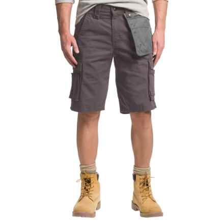 Carhartt Multi-Pocket Ripstop Cargo Shorts - Factory Seconds (For Men) in Gravel - 2nds