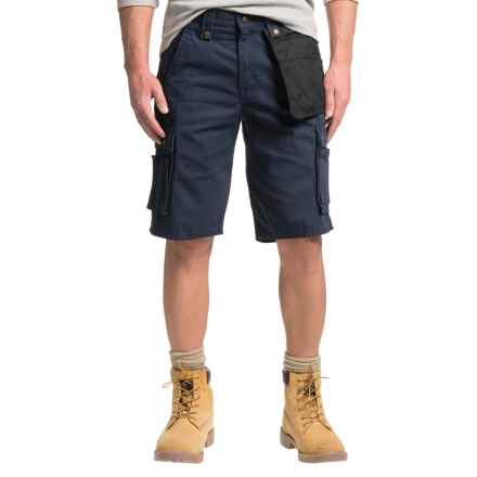 Carhartt Multi Pocket Ripstop Cargo Shorts (For Men) in Navy - 2nds