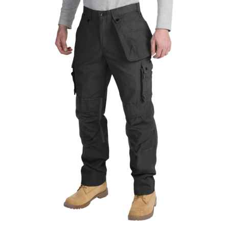 Carhartt Multi-Pocket Ripstop Pants (For Men) in Black - 2nds