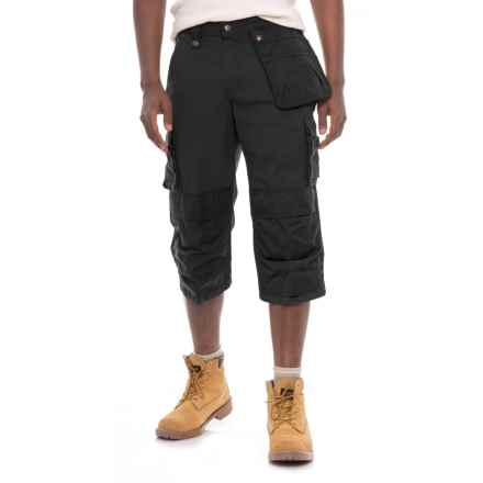 Carhartt Multi-Pocket Ripstop Pirate Pants - Factory 2nds (For Men) in Black - 2nds