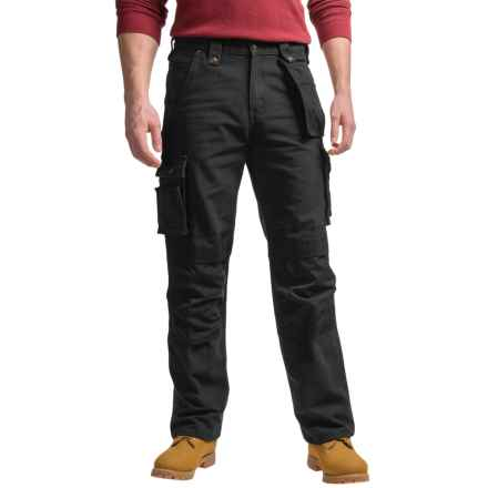 Carhartt Multi-Pocket Washed Duck Work Pants - Factory Seconds (For Men) in Black - 2nds