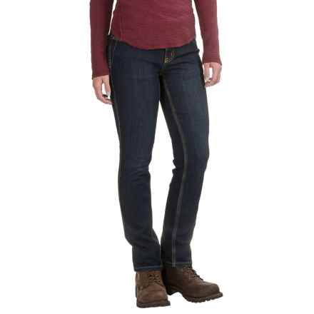 Carhartt Nyona Jeans - Slim Fit, Factory Seconds (For Women) in True Blue Indigo - 2nds