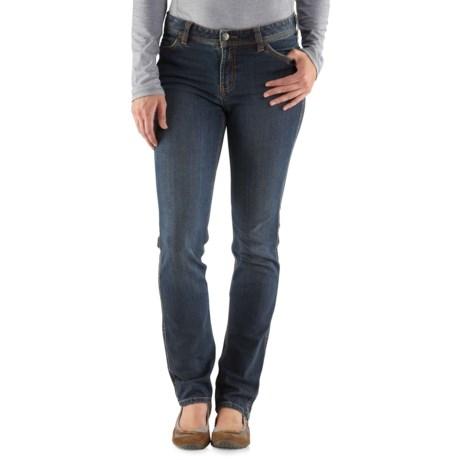 Carhartt Nyona Slim-Fit Jeans (For Women) in True Blue Indigo