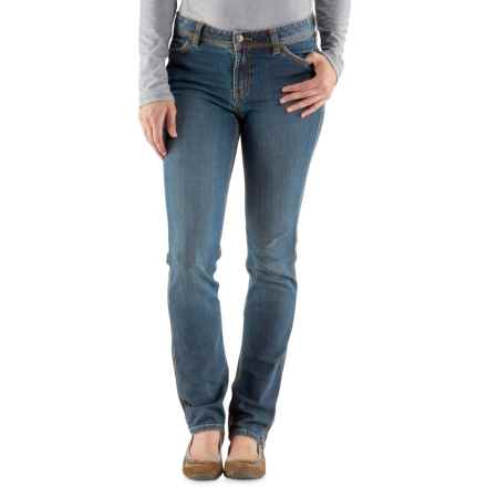 Carhartt Nyona Slim-Fit Jeans (For Women) in Washed Indigo - Closeouts
