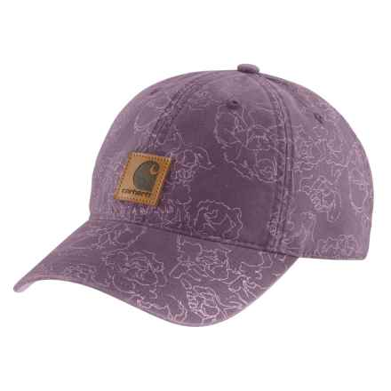 350337a4317cc Carhartt Odessa Printed Cap (For Women) in Vintage Violet - Closeouts