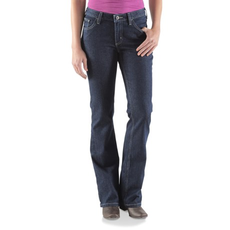 Carhartt Original Fit Basic Jeans - Bootcut (For Women) in Dark Night